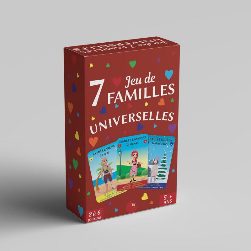 1 Jeu de 7 familles Universelles